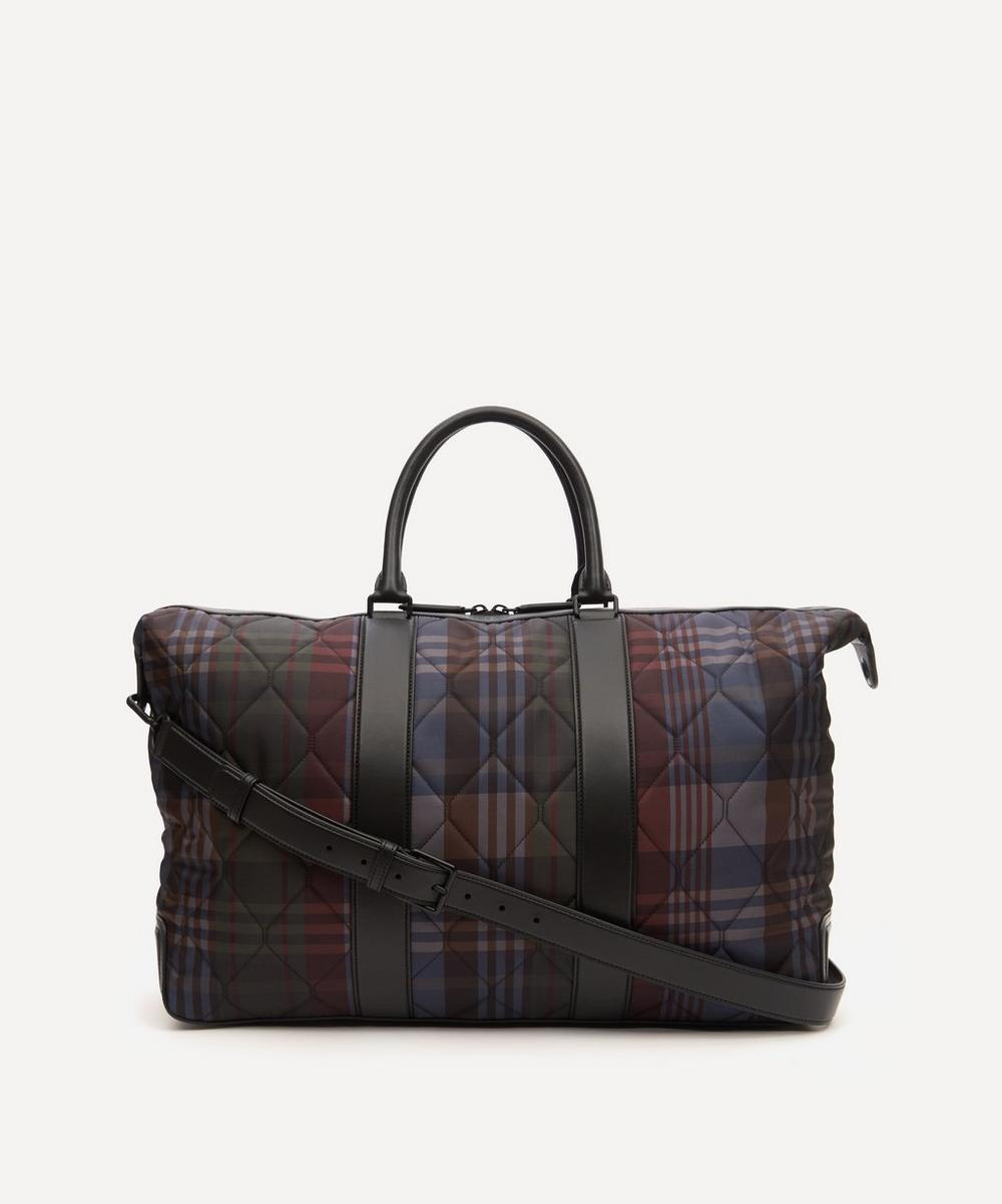 Mulberry - Quilted Heritage Check Zipped Weekender Bag