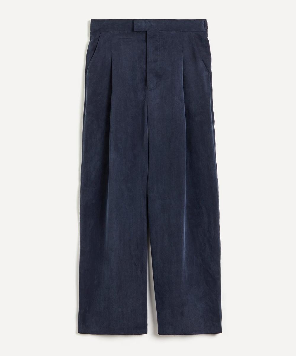 Nanushka - Eetu Silky Straight-Leg Trousers