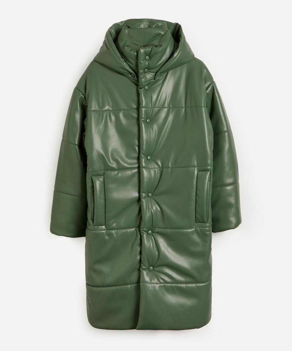 Nanushka - Eska Quilted Vegan Leather Coat