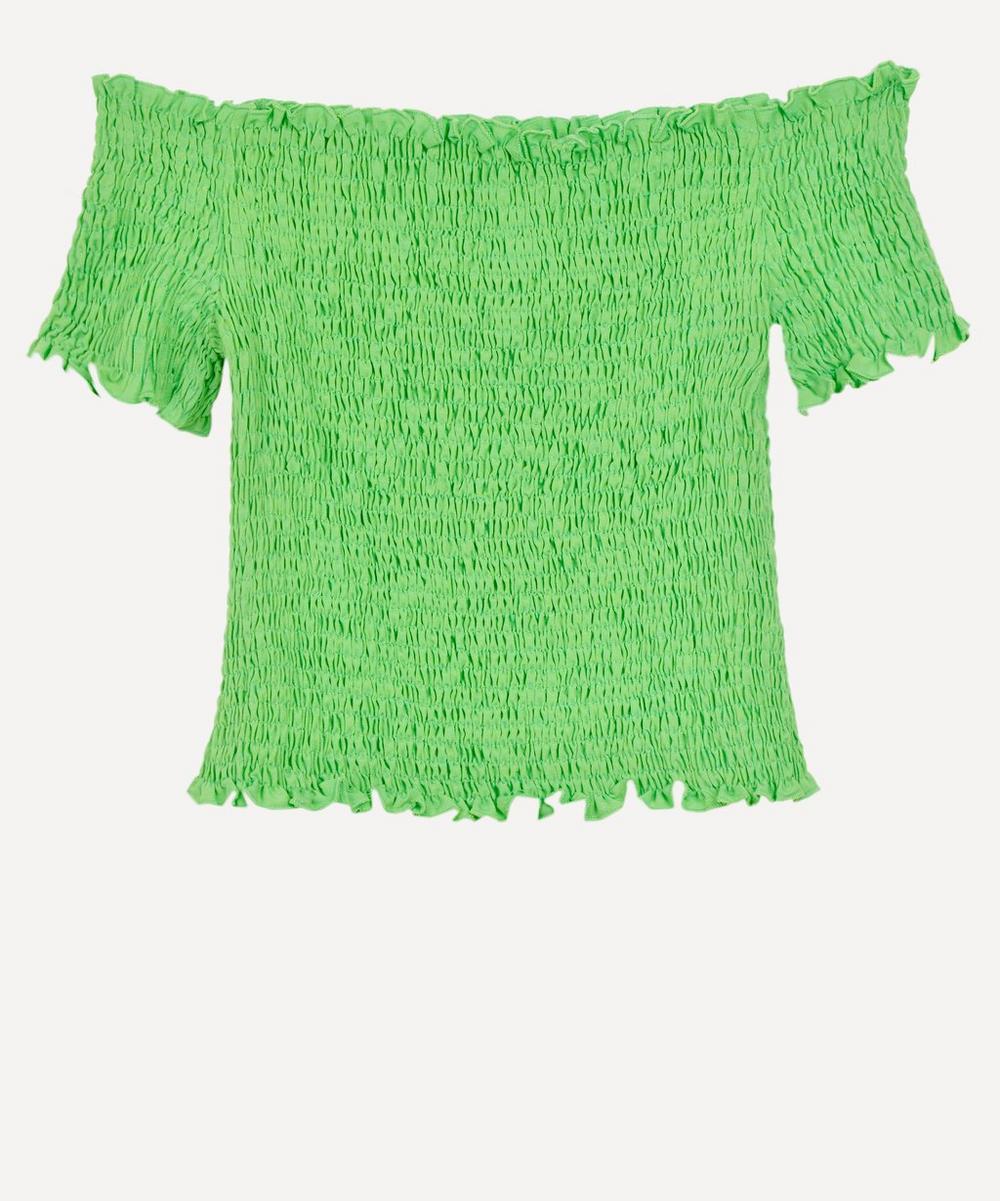 Paloma Wool - Hopper Smock Wide-Neck Top