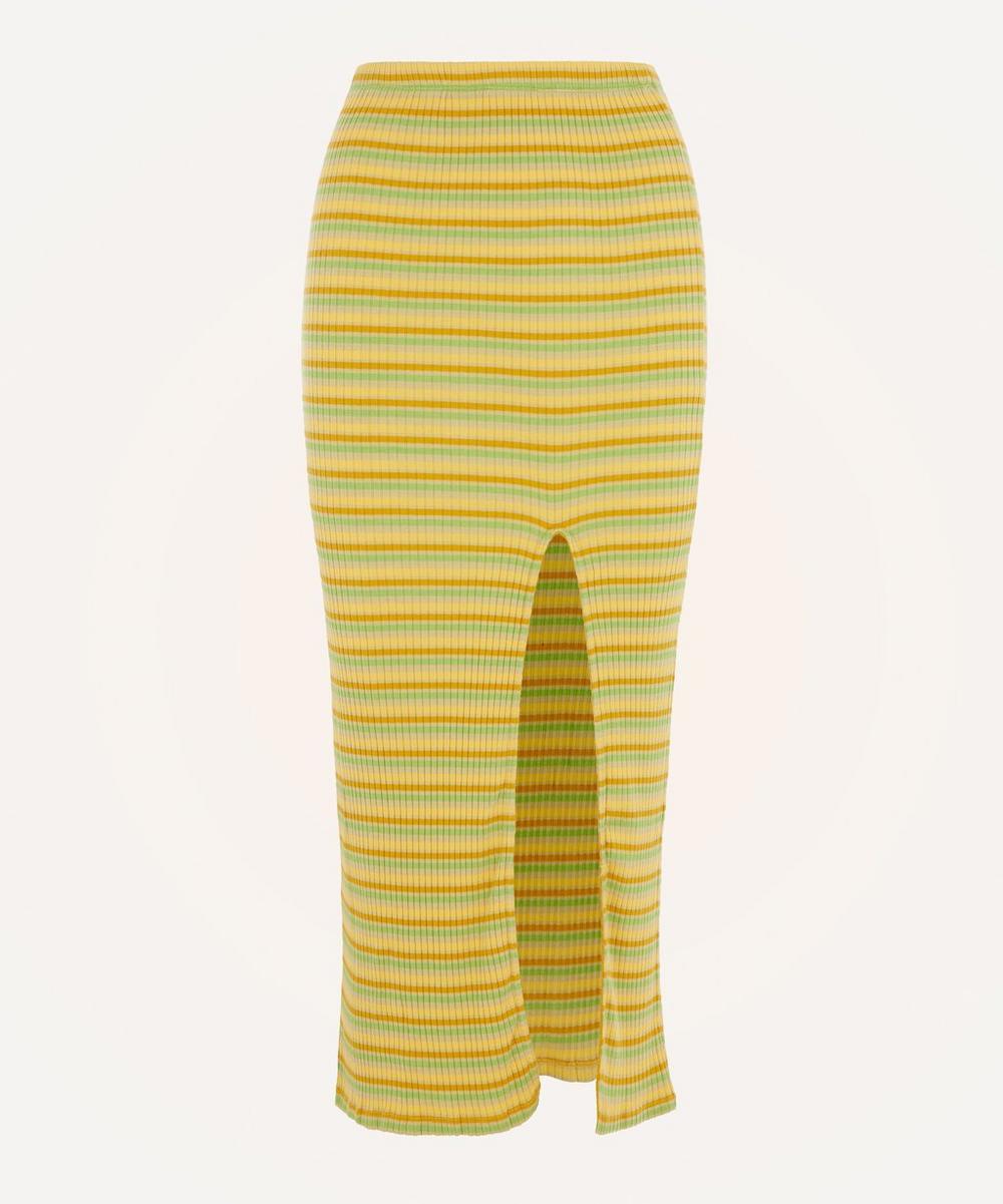 Paloma Wool - Landia Striped Midi-Skirt