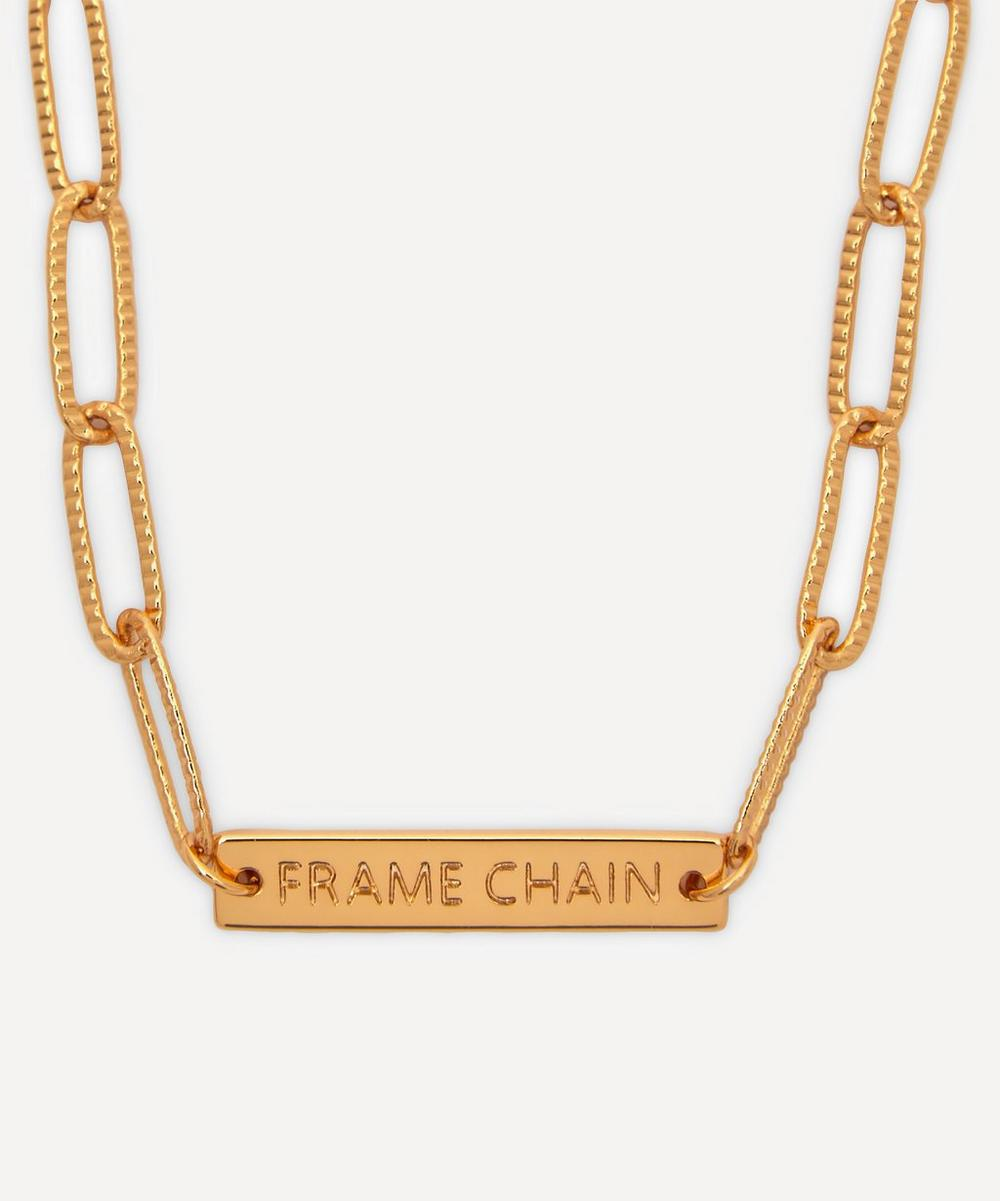 Frame Chain - Gold-Plated Rhonda Glasses Chain