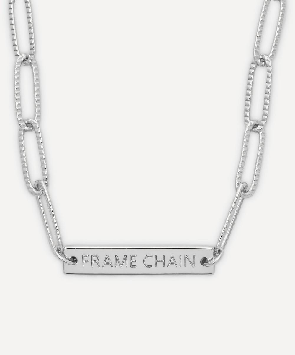 Frame Chain - White Gold-Plated Rhonda Glasses Chain