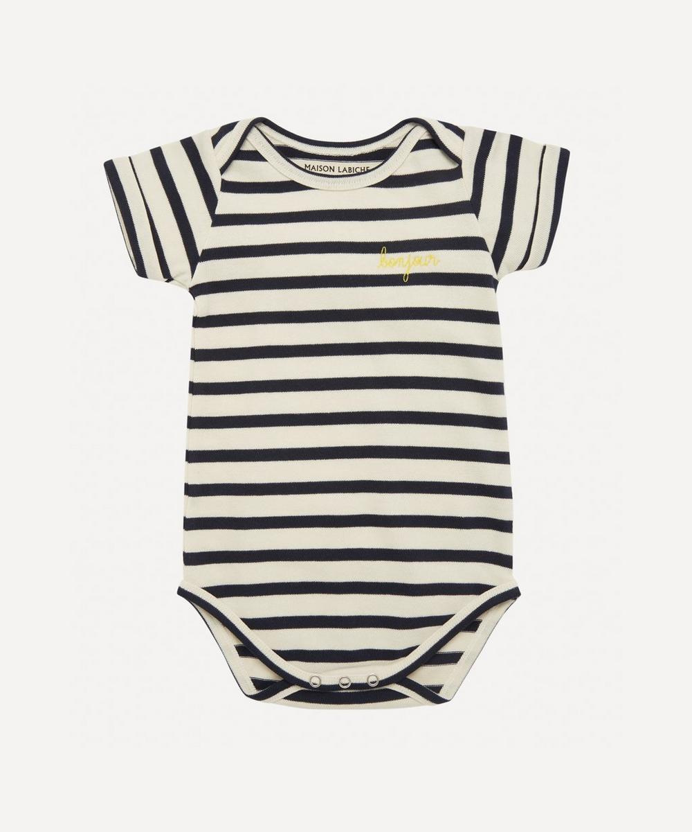 Maison Labiche - Bonjour Short-Sleeved Onesie 0-24 Months