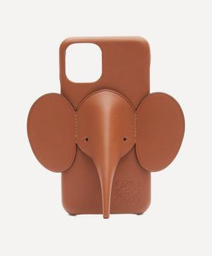 Elephant Leather iPhone 11 Pro Case
