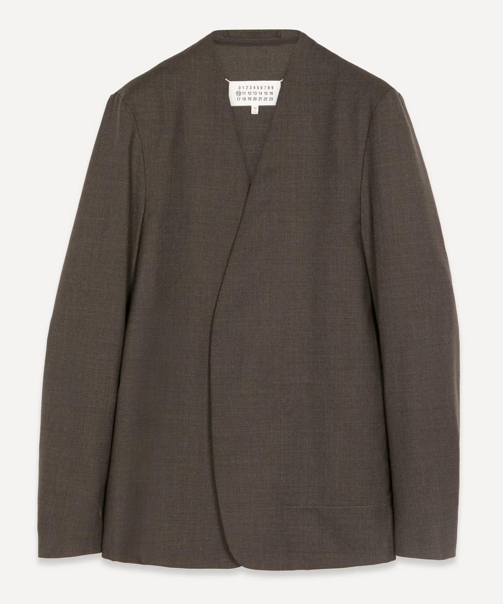 Maison Margiela - Collarless Cotton Blazer