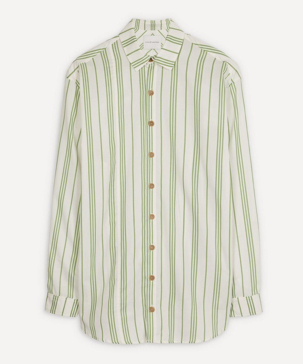 King & Tuckfield - Oversized Bold Stripe Shirt
