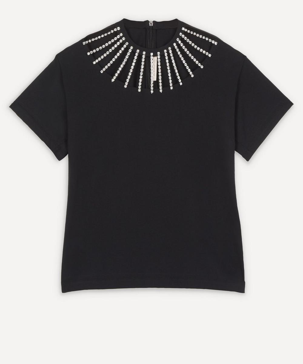 Christopher Kane - Crystal Neckline T-Shirt