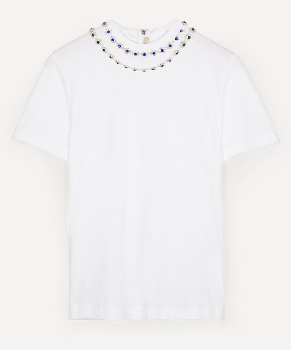 Christopher Kane - Flower Crystal T-Shirt