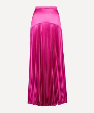 Slinky Jersey Pleated Skirt
