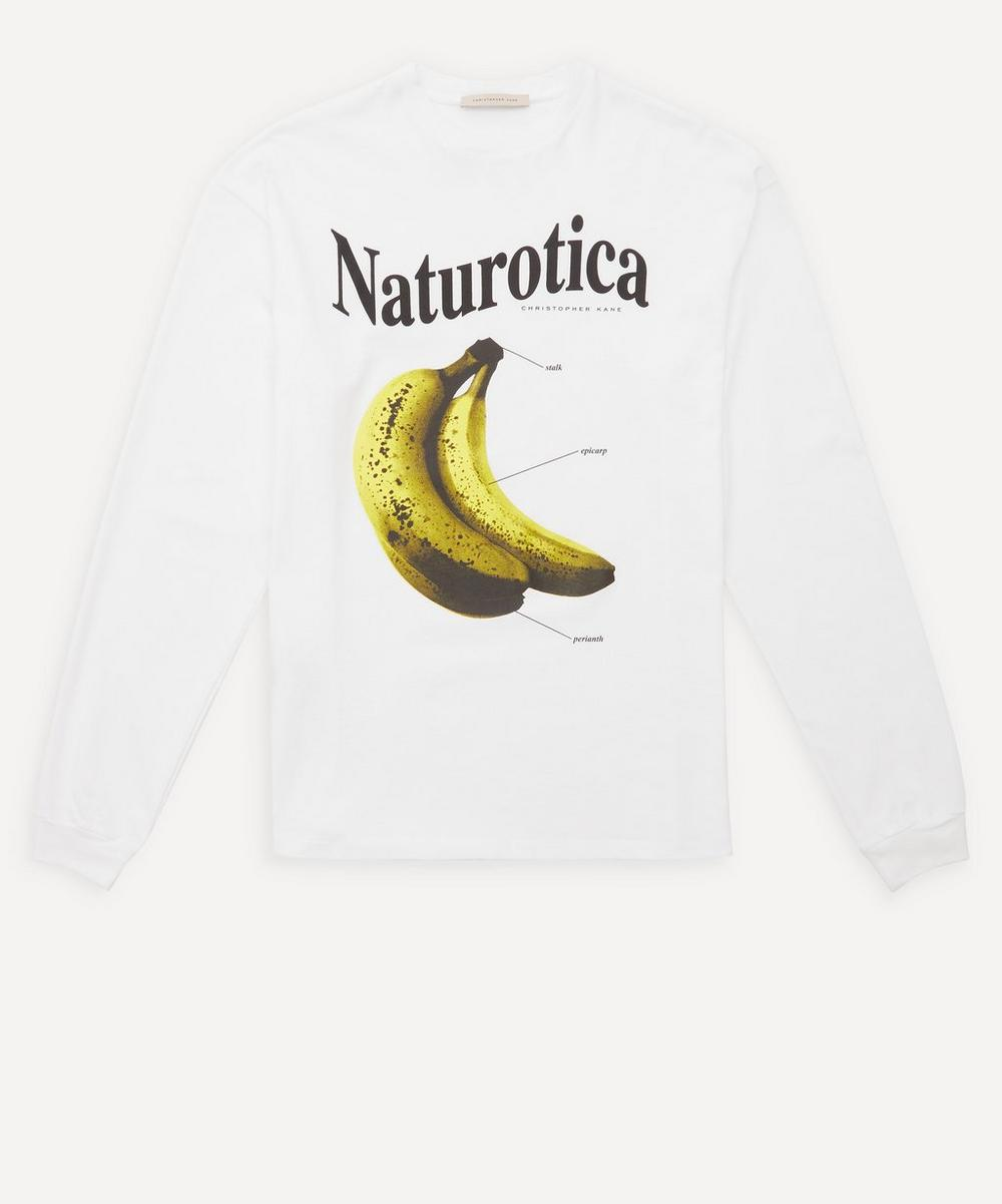 Christopher Kane - Banana Long-Sleeve T-Shirt