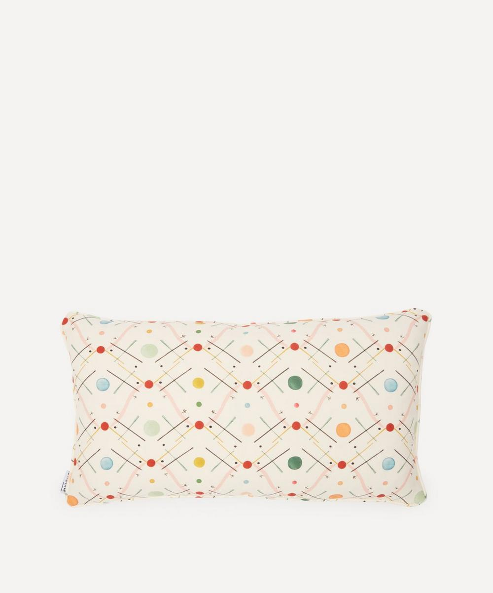 Ottoline - Improvisation No.1 Linen Cushion