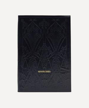 Leather A5 Ianthe Address Book