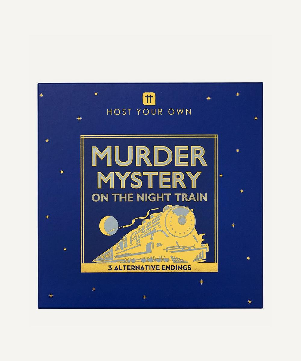Unspecified - Host Your Own Murder Mystery Night Game