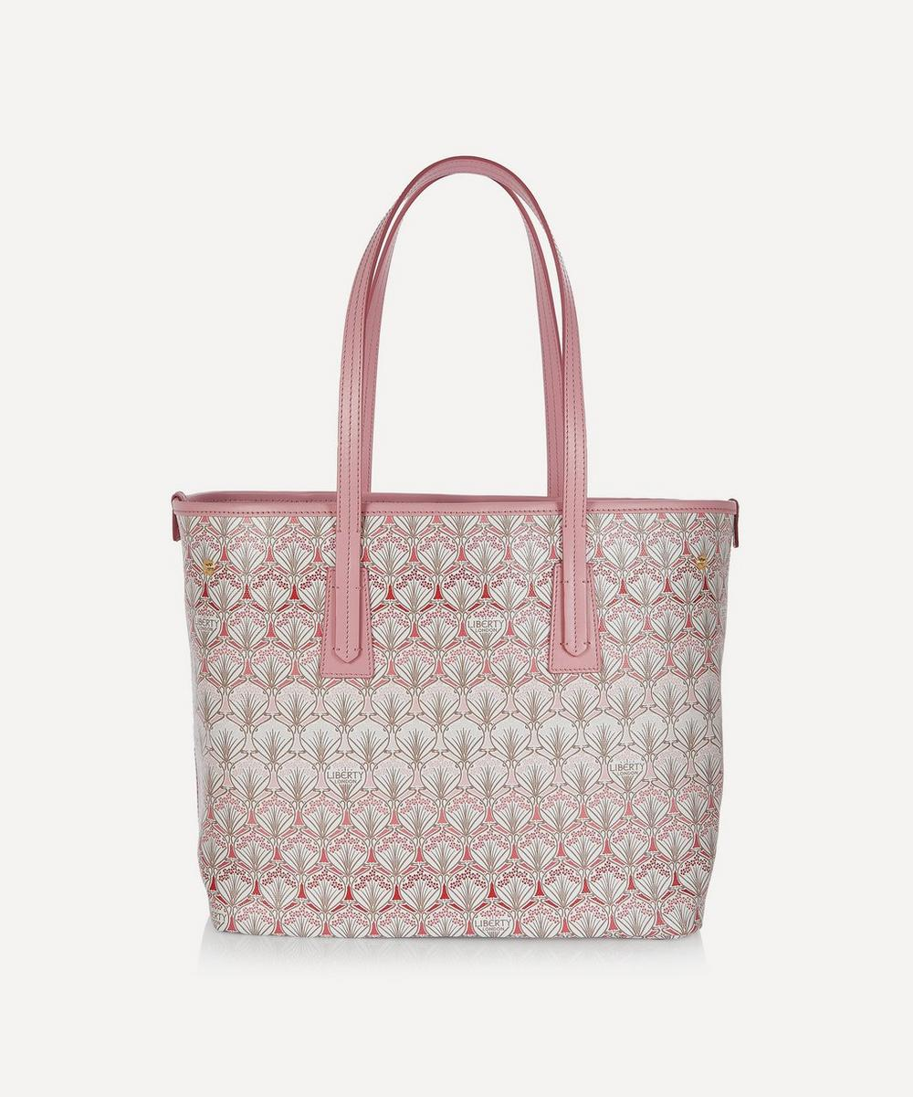 Liberty - Iphis Cherry Blossom Little Marlborough Canvas Tote Bag