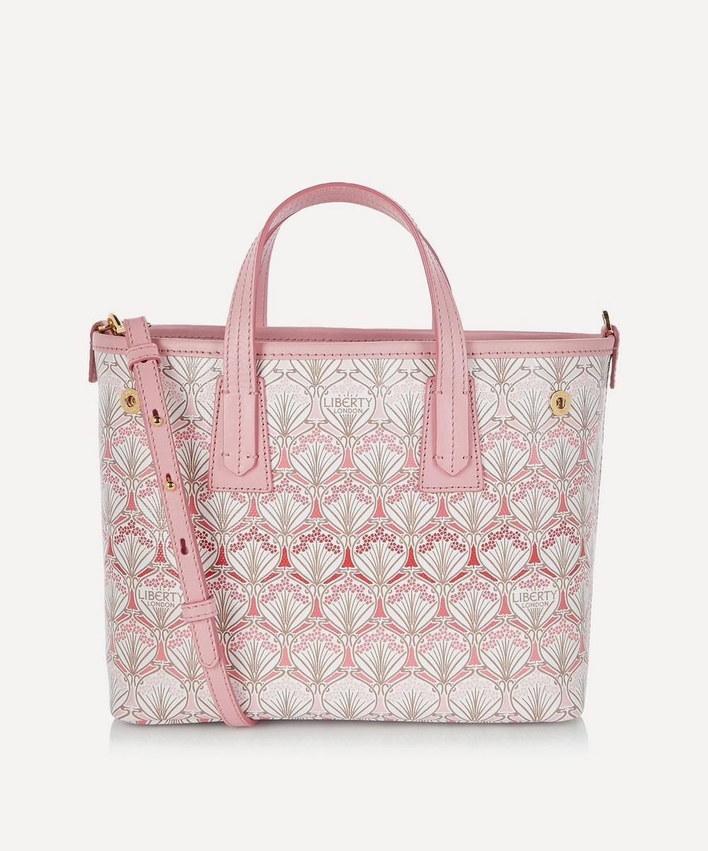 Liberty - Iphis Cherry Blossom Mini Marlborough Canvas Cross-Body Bag