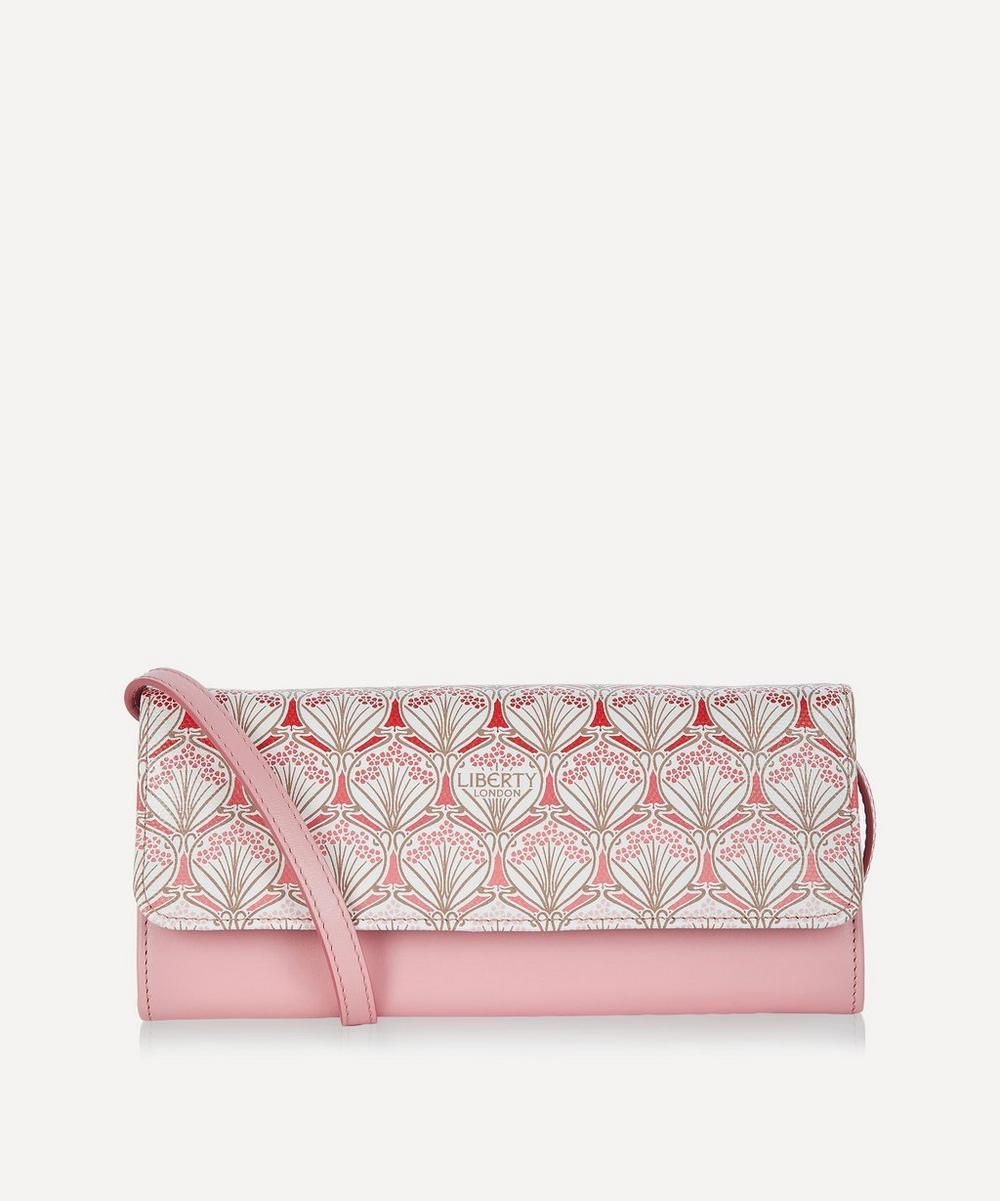 Liberty - Iphis Cherry Blossom Soho Canvas Cross-Body Clutch