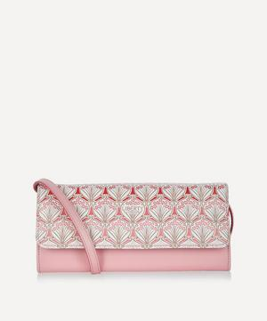 Iphis Cherry Blossom Soho Canvas Cross-Body Clutch