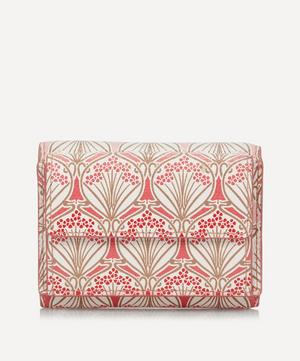 Iphis Cherry Blossom Canvas Mini Trifold Wallet