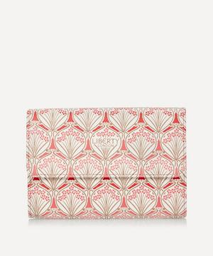 Iphis Cherry Blossom Canvas Trifold Continental Wallet