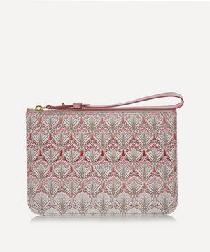 Iphis Cherry Blossom Canvas Wristlet