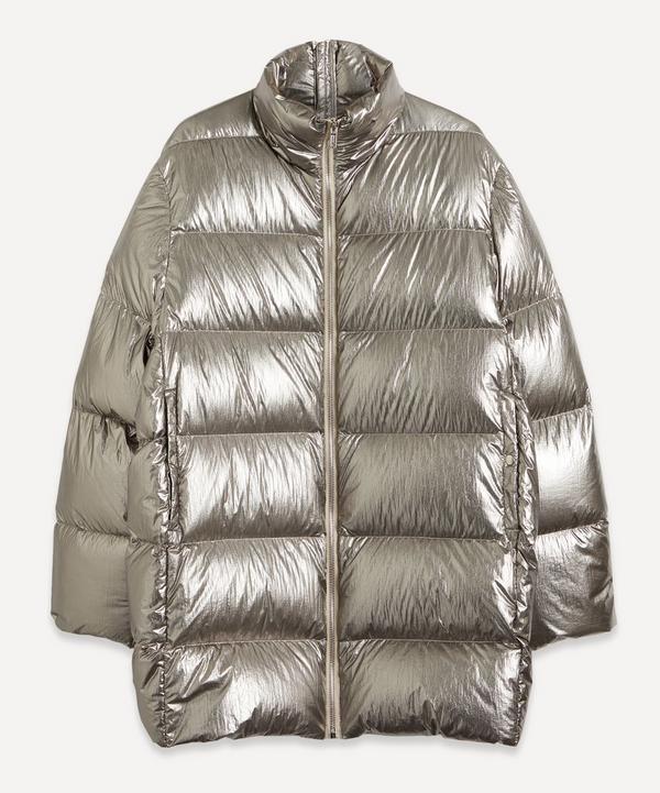 Moncler + Rick Owens - Oversized Metallic Puffer Jacket