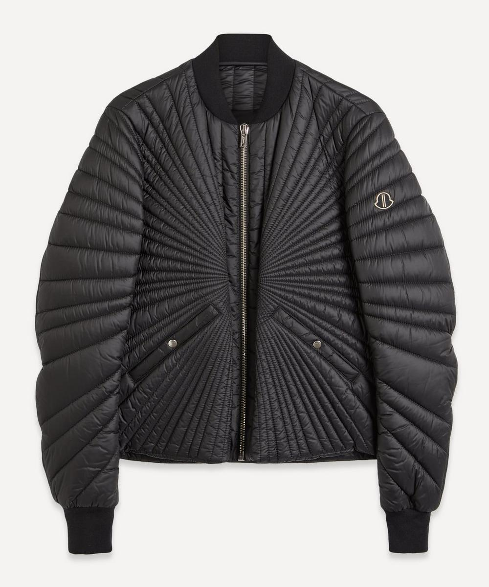 Moncler + Rick Owens - Sunray Quilted Bomber Jacket