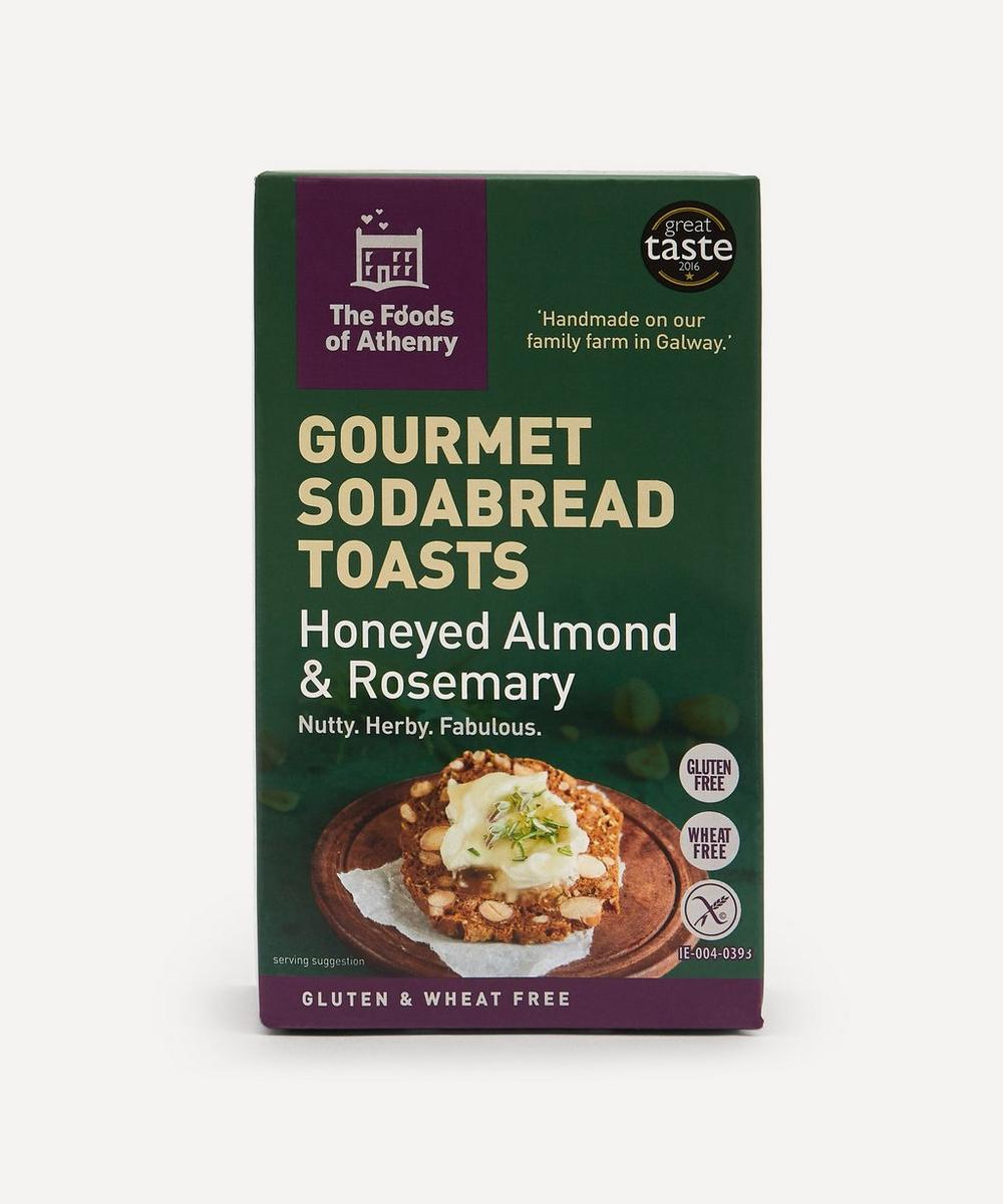 The Foods of Athenry - Gluten Free Honeyed Almond and Rosemary Sodabread Toasts 110g