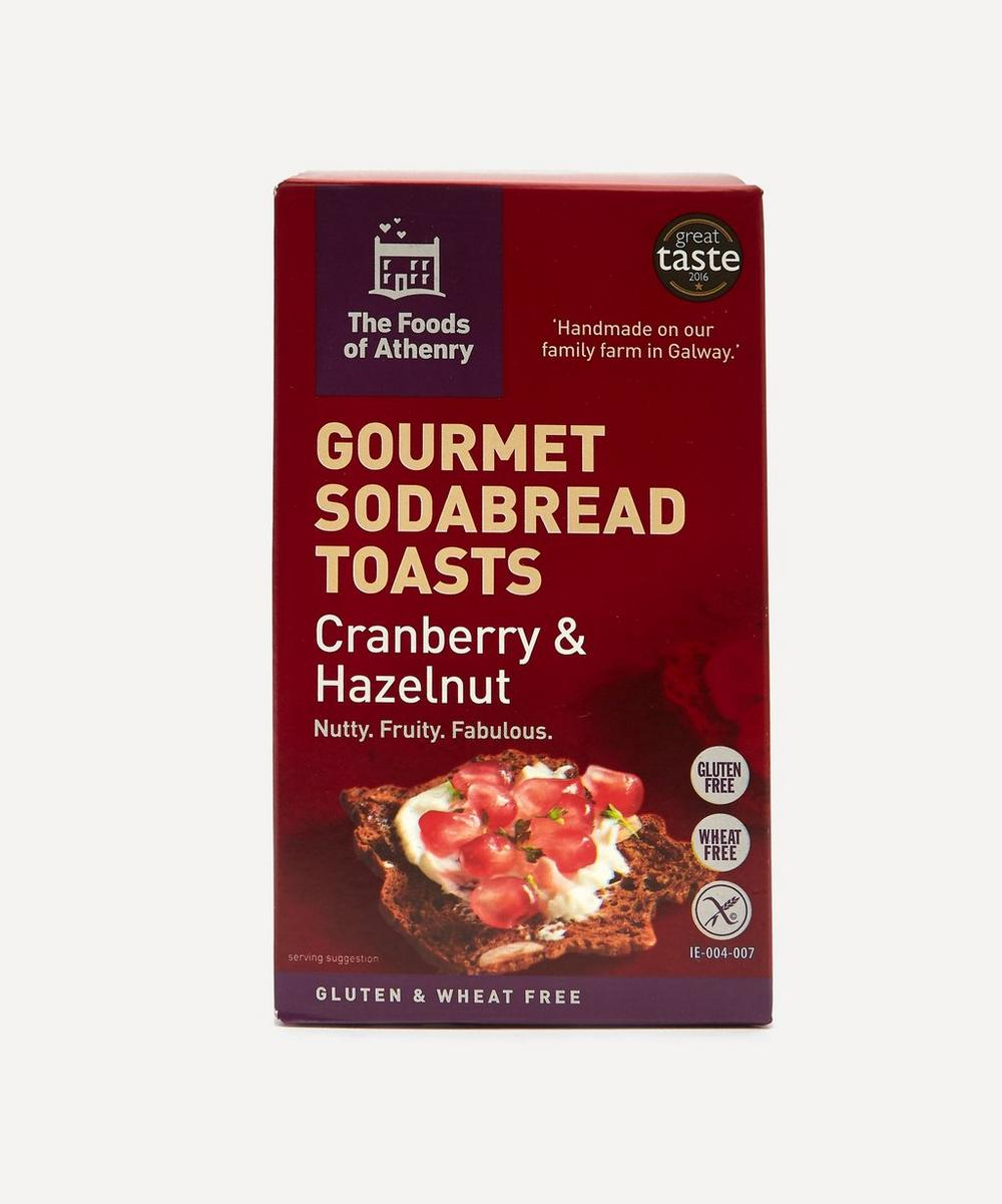 The Foods of Athenry - Gluten Free Cranberry and Hazelnut Sodabread Toasts 110g