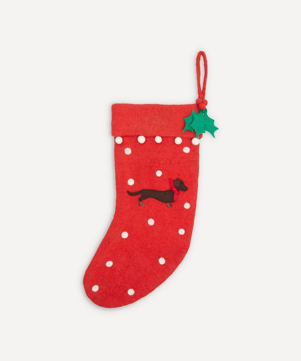 Unspecified - Dachshund Stocking