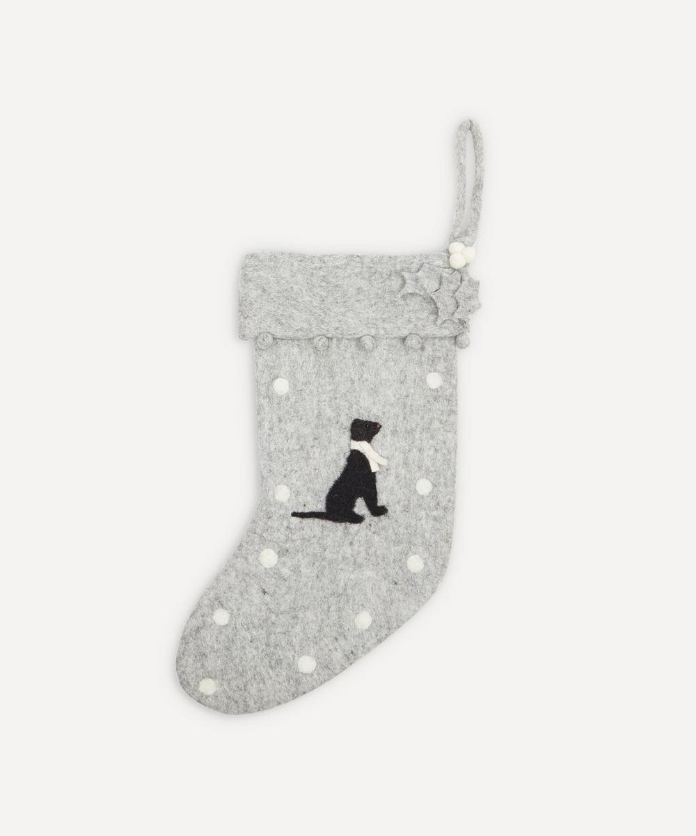 Unspecified - Black Labrador Stocking