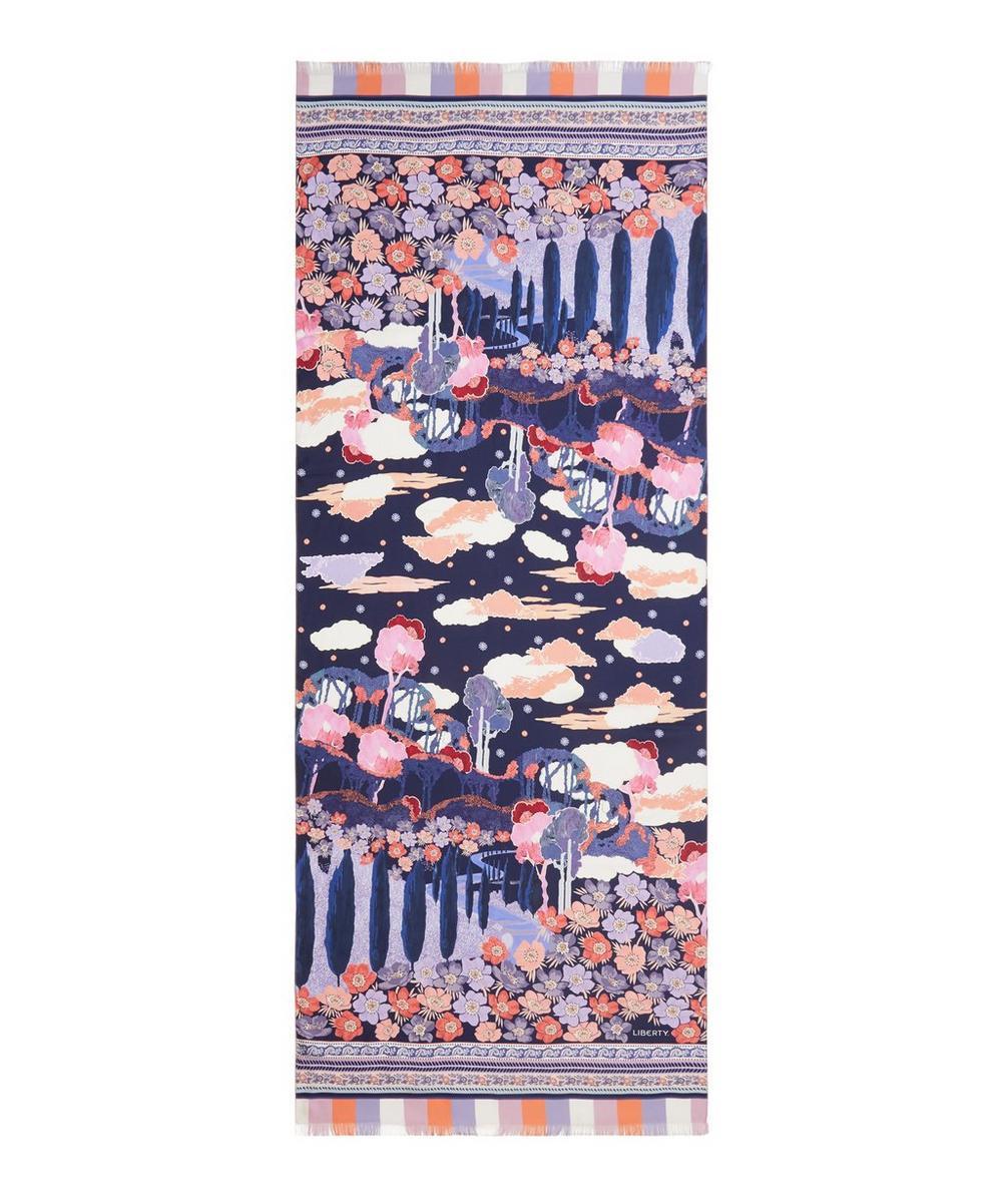 Liberty - Bianca 70 x 180cm Silk Twill Scarf