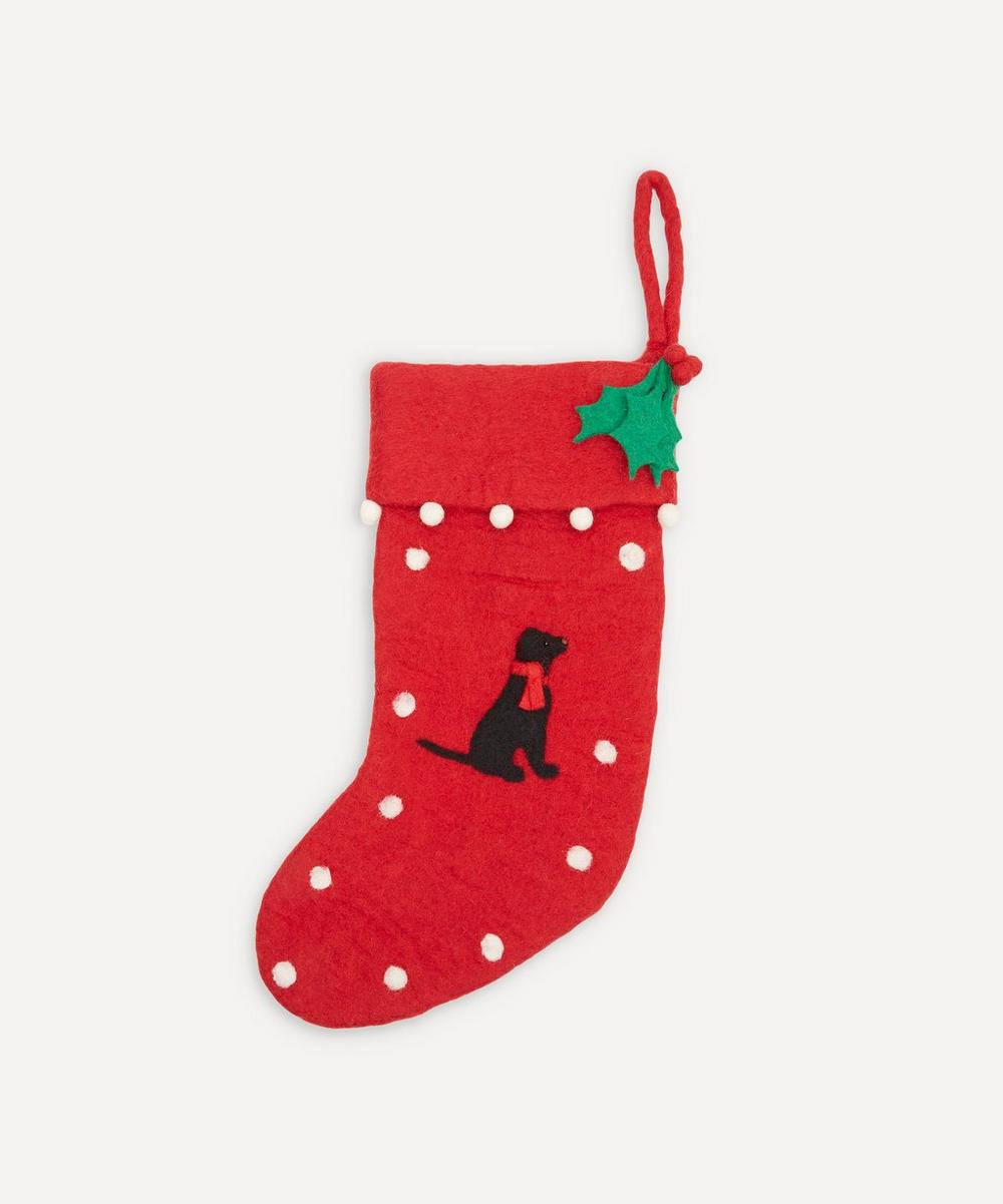 Unspecified - Black Labrador Stocking