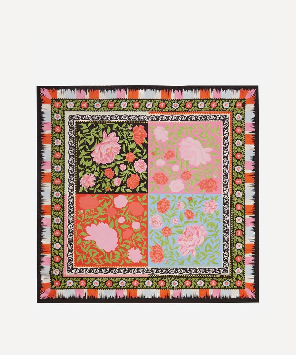 Liberty - Aurora 70 x 70cm Silk Twill Scarf