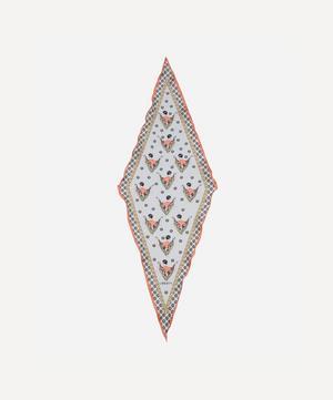 Sweet Thing 36 x 106cm Silk Twill Lozenge Scarf