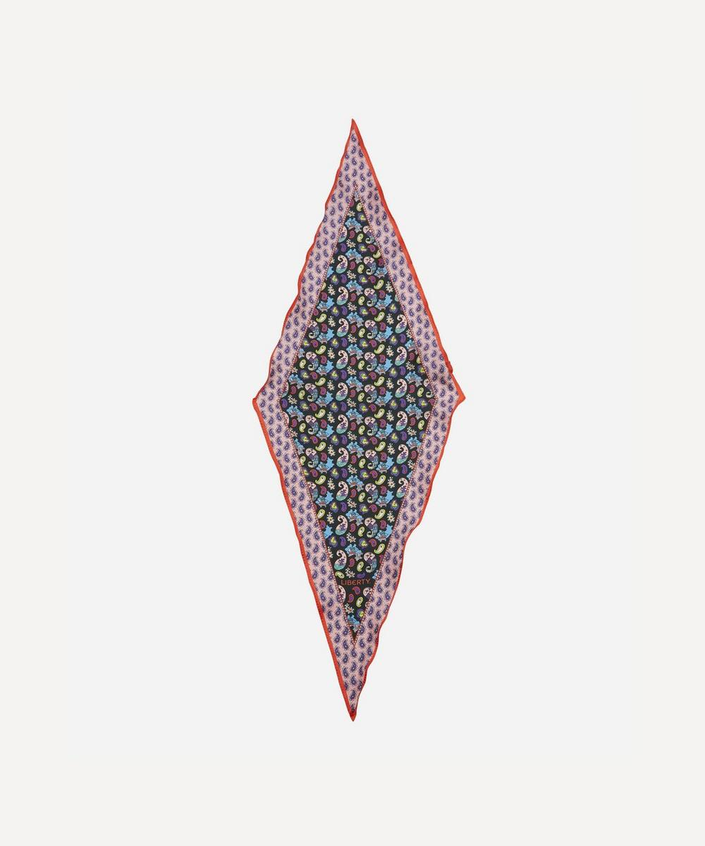 Liberty - Betty 36 x 106cm Silk Twill Lozenge Scarf