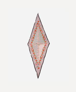 Anita 36 x 106cm Silk Twill Lozenge Scarf