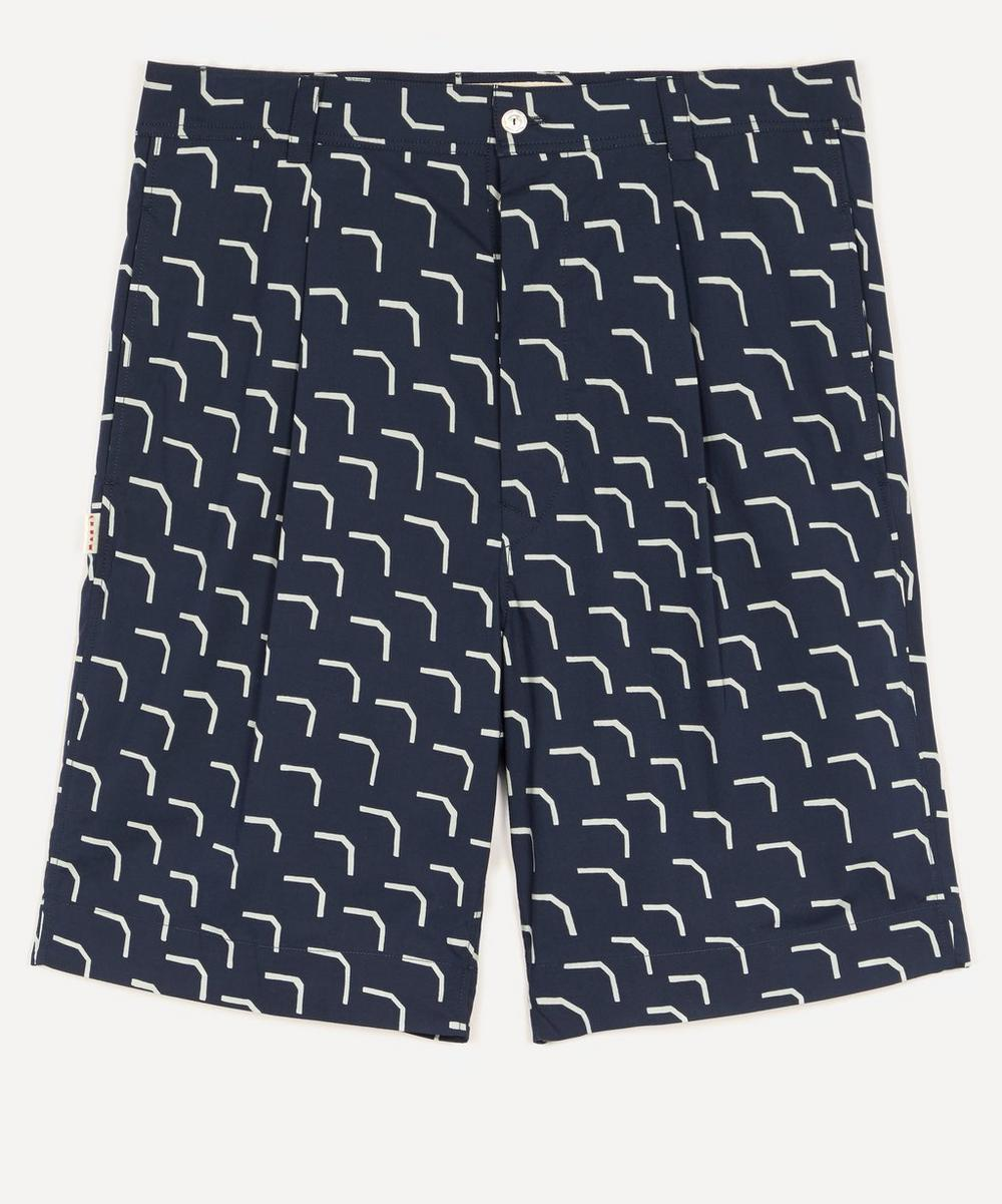 Marni - Geo Print Shorts