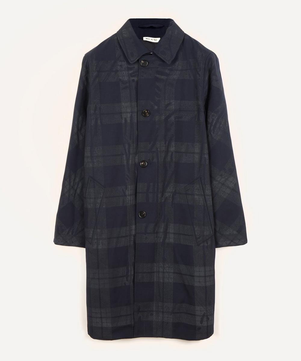 Marni - Checked Front Wool Back Mac