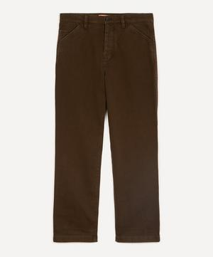 Aleq Washed Cotton Trousers