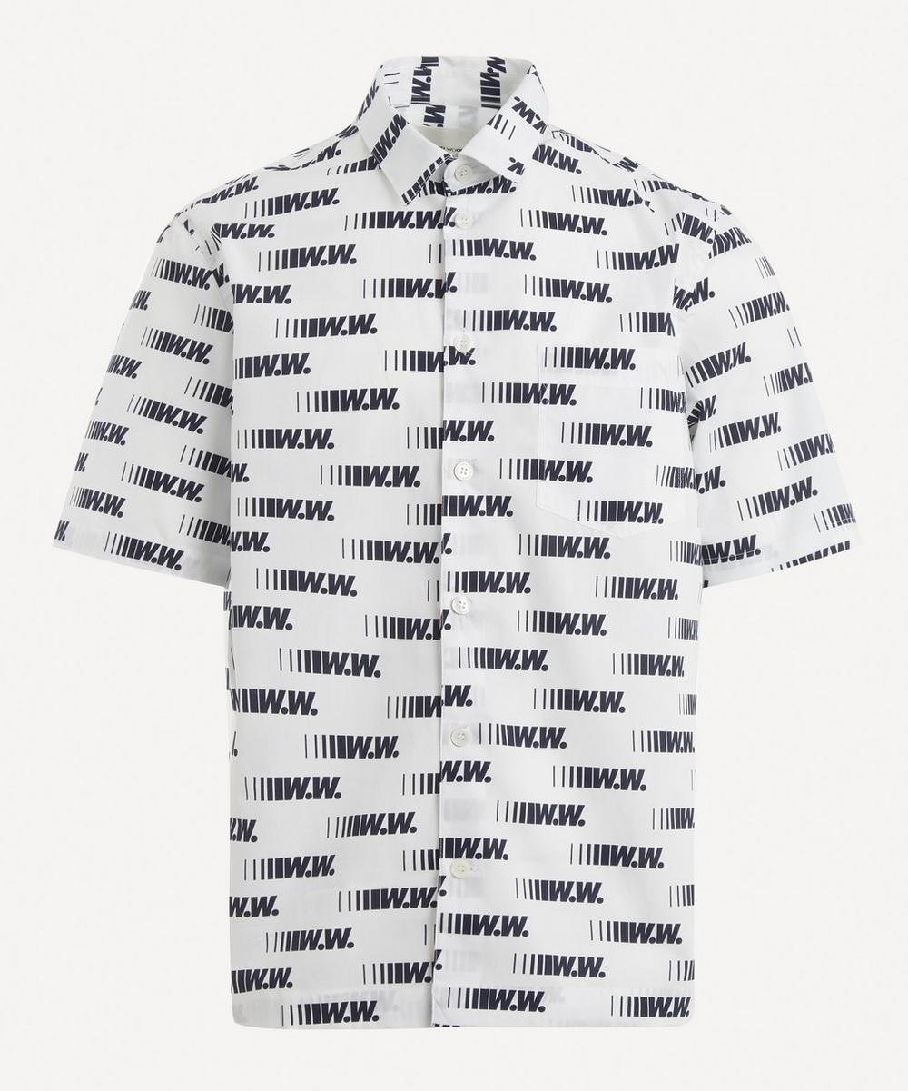 Wood Wood - Thor Short-Sleeve Logo Shirt