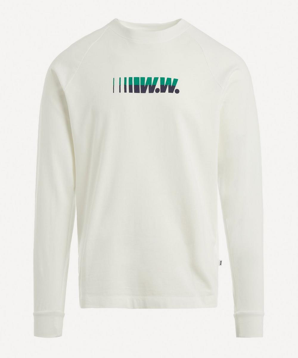 Wood Wood - Hans Logo Cotton Sweater