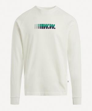 Hans Logo Cotton Sweater