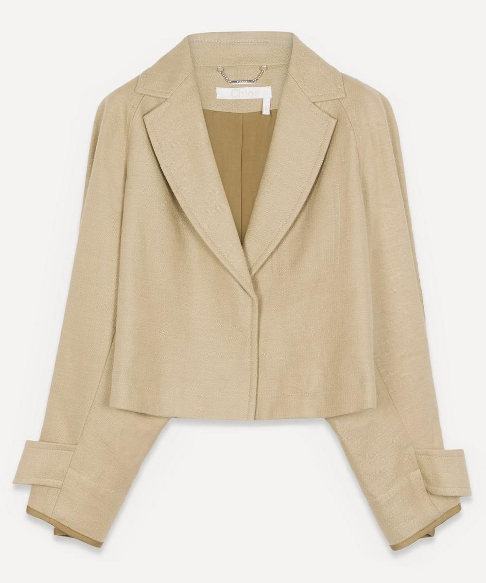 Chloé - Canvas Cropped Jacket
