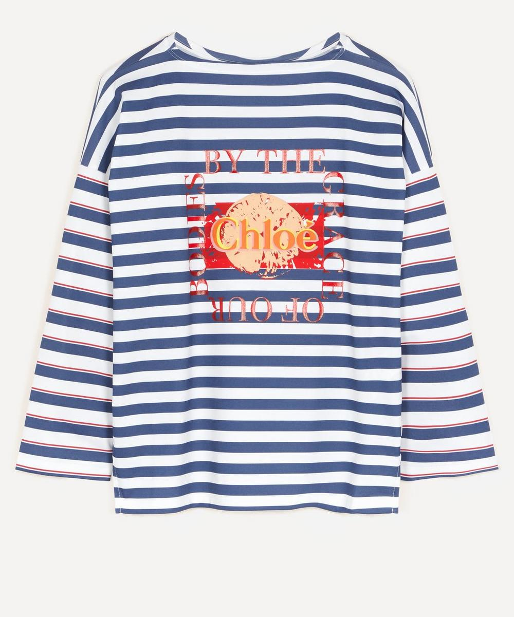 Chloé - Printed Jersey Top