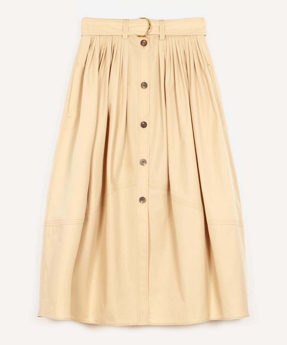 Chloé - Cotton A-Line Midi-Skirt