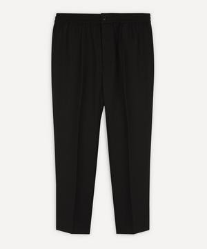 Cotton Elastic Waist Trousers