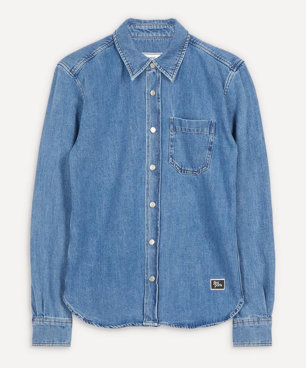 Ami - Boxy Denim Shirt