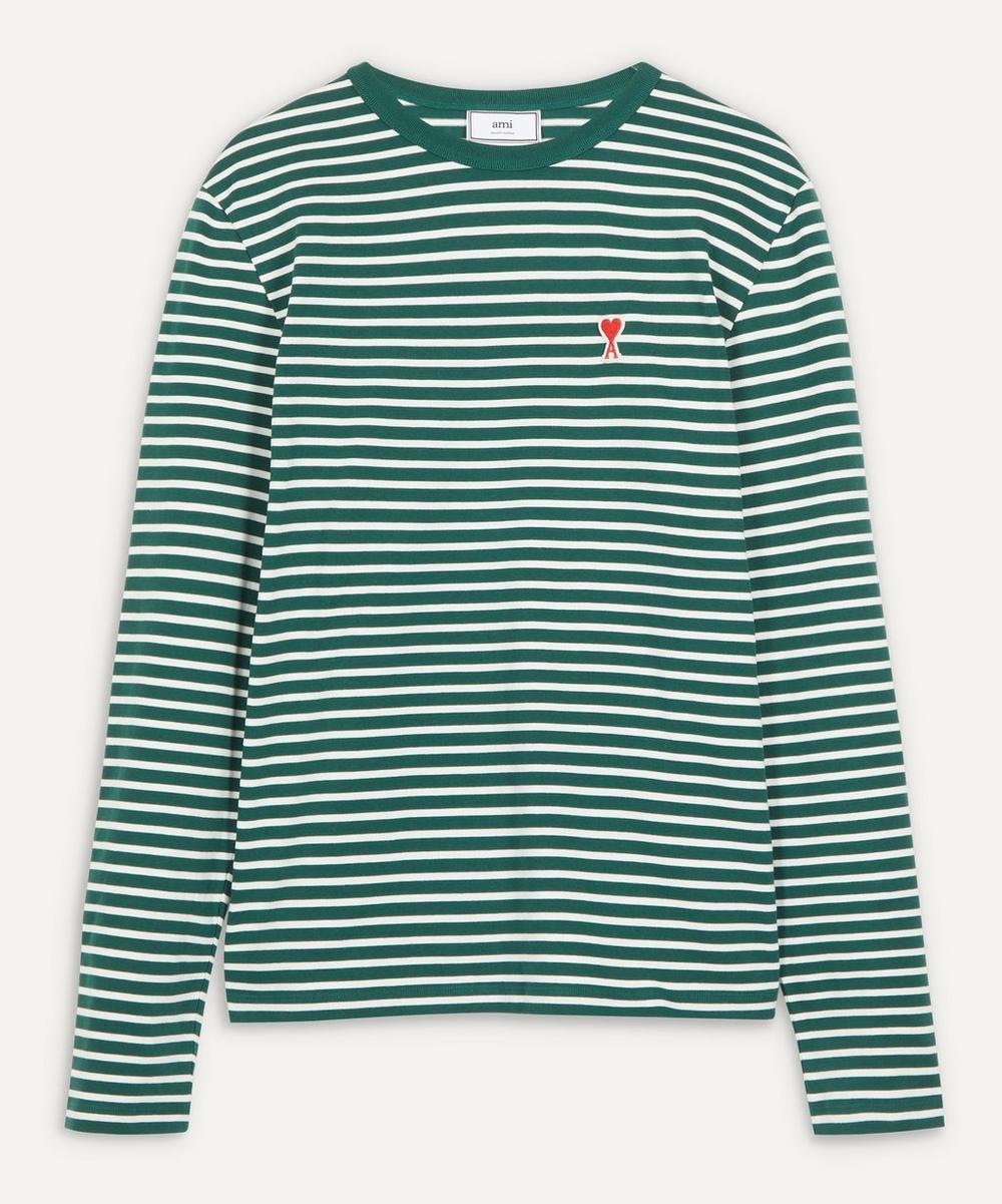 Ami - Stripe Long-Sleeve T-Shirt