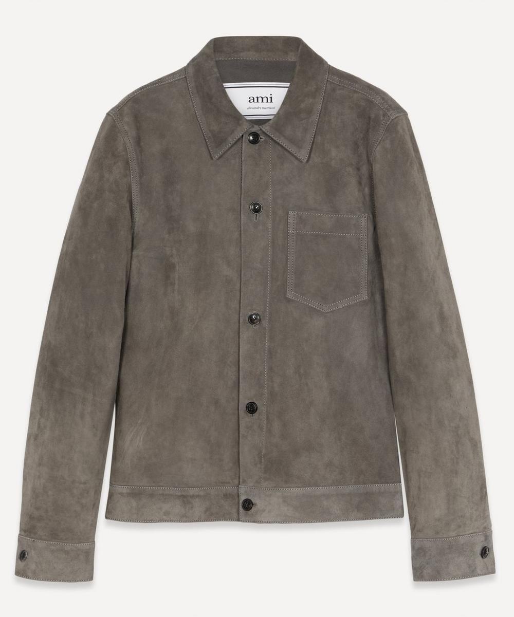 Ami - Suede Overshirt